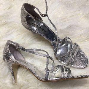 30de36c1bb1 Shoes | Prom Silver Sparkly Size 657 | Poshmark